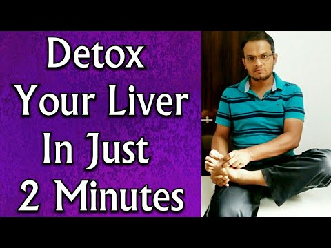 Acupressure Point For LIVER Detoxification - Detox Your Liver In Just 2 Minutes