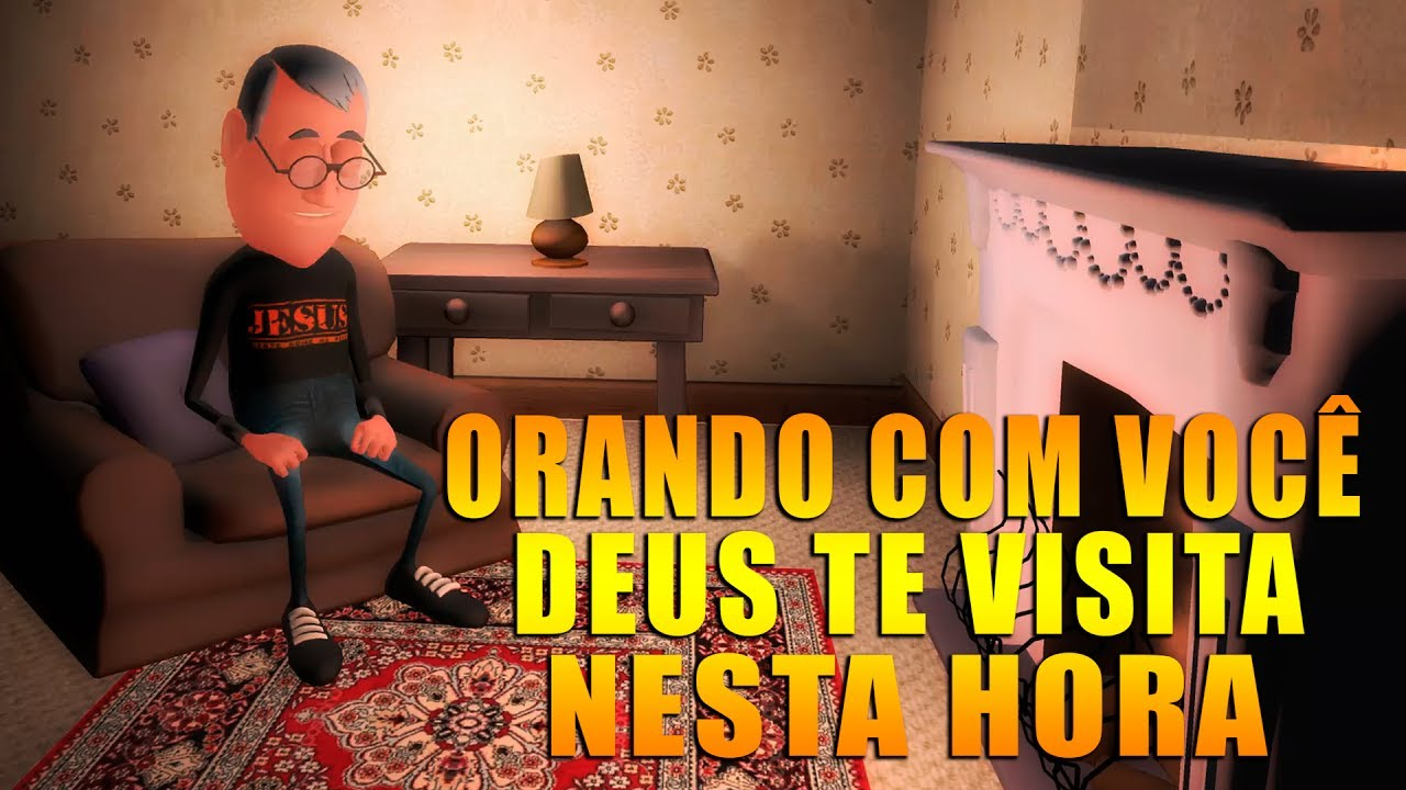 ORANDO COM VOCÊ, DEUS TE VISITA NESTA HORA! | ANIMA GOSPEL