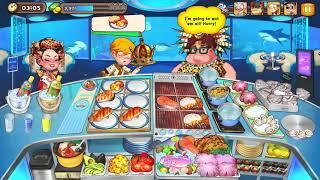 Cooking Adventure - Seafood Ocean Restaurant Level 55 - Full Upgrade screenshot 5
