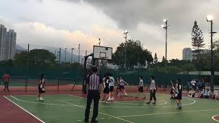 學界籃球C grade 十六强(沙西)啓新vs潮州會館1st