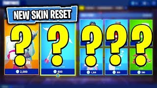 The NEW Daily Skin Items In Fortnite: Battle Royale! (Skin Reset #11)