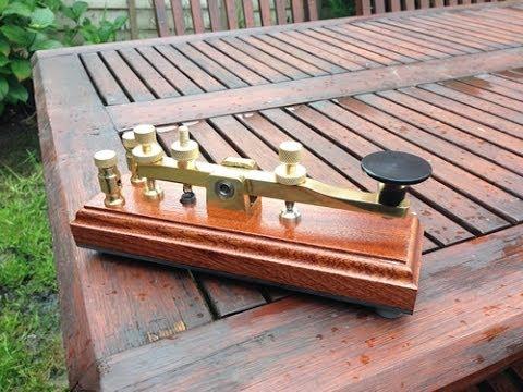 John Wellings Morse Key