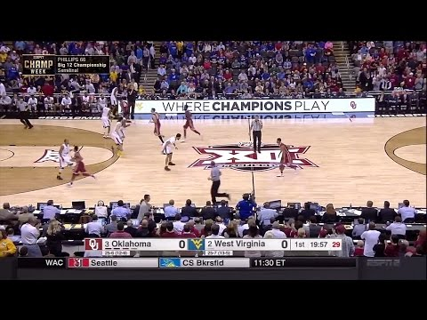 Oklahoma Sooners vs West Virginia Mountaineers 3-11-2016