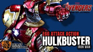 Beast Kingdom Avengers Age of Ultron Egg Attack Action Hulkbuster Previews Exclusive | Video Review
