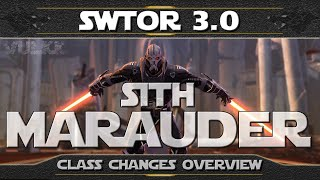 SWTOR Shadow of Revan ► Sith MARAUDER Changes and Disciplines Overview (+New Animations)