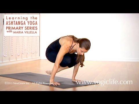 Ashtanga Yoga Primary Series: The Basic Jump Back with Maria Villella