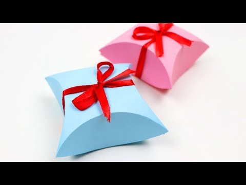 How to Make Easy Paper Gift Box DIY Arts & Crafts   Fantastic Gift Wrap Ideas - Paper Gift Boxes