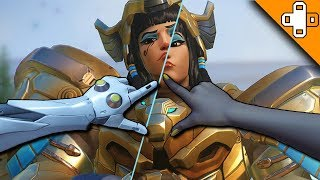 Pharah Gets SLICED IN HALF! Overwatch Funny & Epic Moments 548