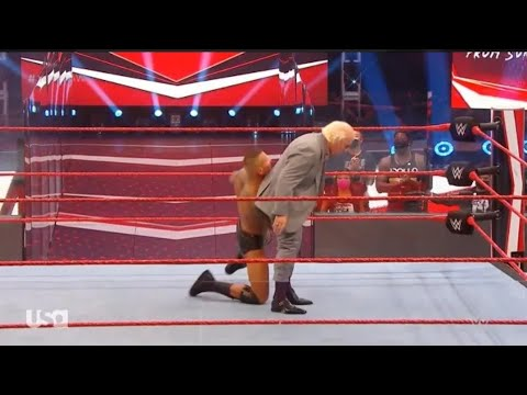 wwe Randy Orton attacks ric flair replay highlights 10Aug 2020