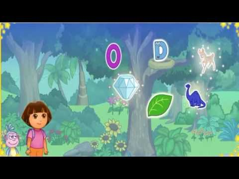Dora study games Alphabet adventure and animal Baby games 2015 Full HD