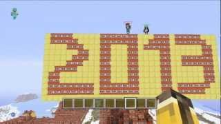 Minecraft Construction TNT / Bonne année on va tout faire sauter !!!!!!!