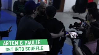 Artem Lobov and Paulie Malignaggi Scuffle At Bare Knuckle Media Day