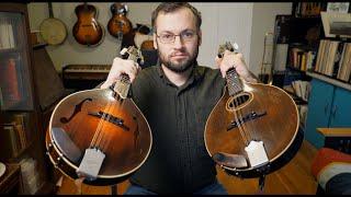 Modern F Hole Vs. Vintage Oval Hole Mandolin Comparison