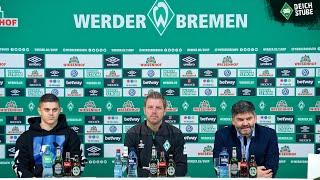Vor Hertha BSC: Die Highlights der Werder-PK in 189,9 Sekunden