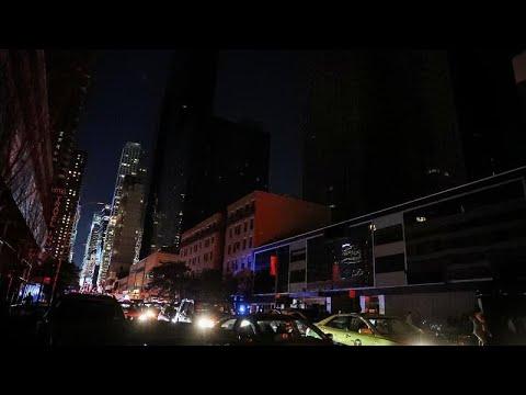 يورو نيوز:شاهد: حي مانهاتن بولاية نيويورك يغرق في الظلام