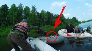 ШОК! РЫБАК чуть не УТОНУЛ! Рыбалка и Ловля Щуки и Окуня на Спиннинг Отводной Поводок и Джиг - MF №67
