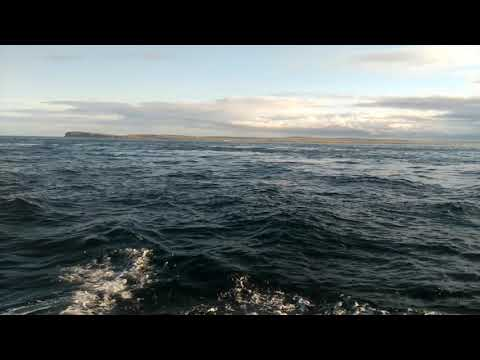 Sailing through the infamous Pentland Firth.