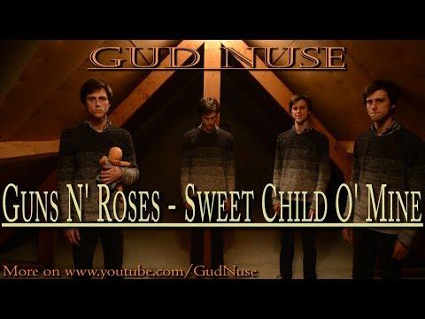 Guns N' Roses – Sweet Child O' Mine (one man acapella classical choir cover)