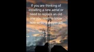 DIY Guide - How to Install a Digital TV Aerial / Antenna