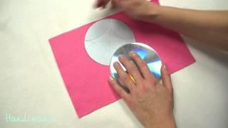Как сделать квадратную красивую коробочку для подарка за 5 минут