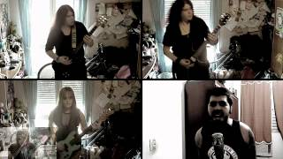 Never Again and Luiz Livio - Blood Red Sandman Cover (Lordi)