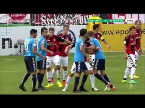 SV Babelsberg v SC Freiburg - DFB Pokal 1.Runde 2016/17
