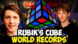 Rubik's cube world records 2016