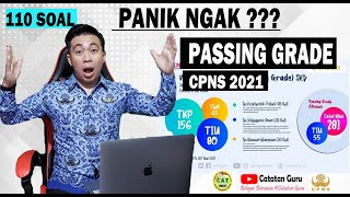 Jangan Panik Passing Grade Cpns 2021 Naik Jumlah Soal Bertambah Ini Peluang Lolos Cpns Youtube