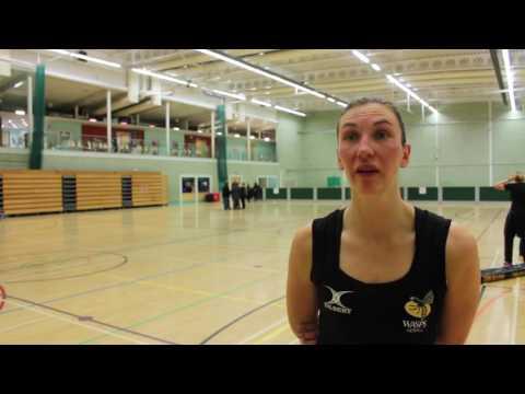 Rachel Dunn on Severn Stars victory