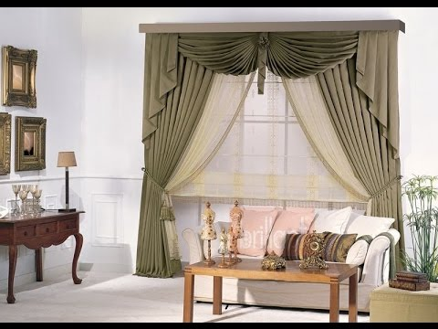 How to make swags and tails curtains(Dly) - YouTube