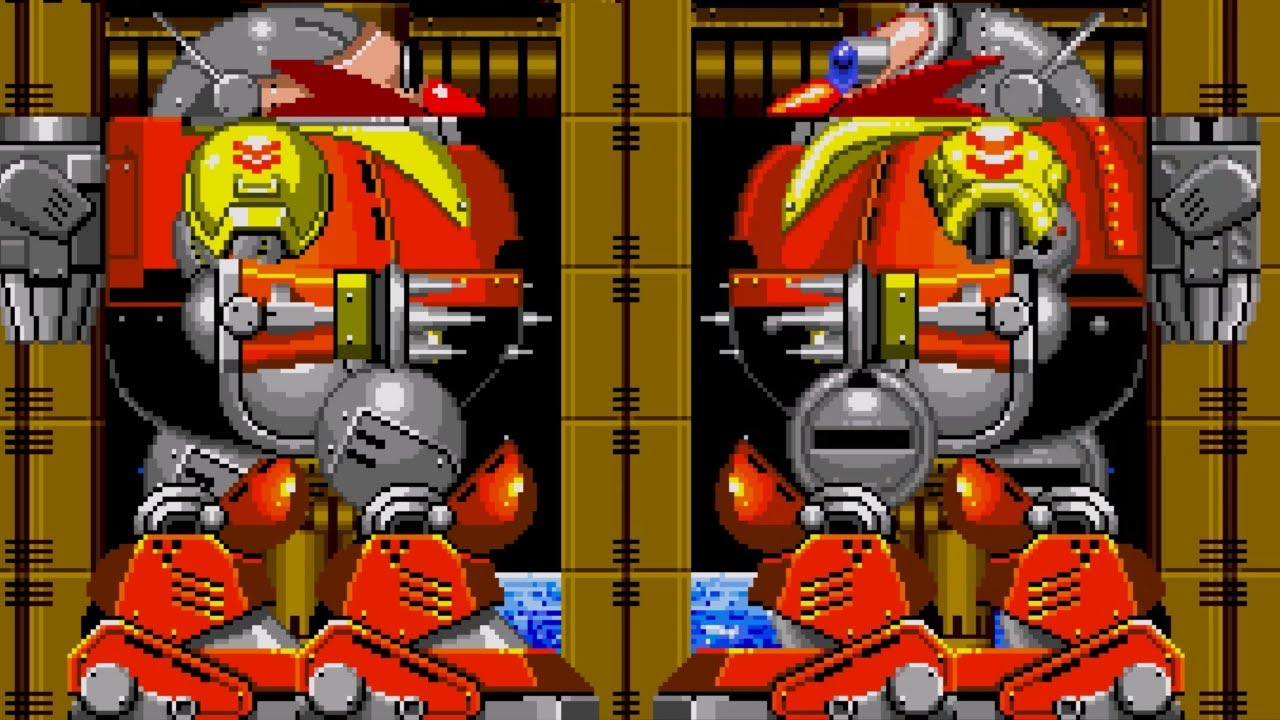 Mania Death Egg Robot in Sonic 2