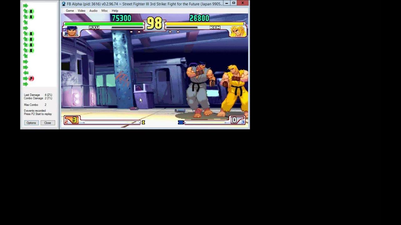 SF3 Third Strike training mode addon v2 0 for fightcade