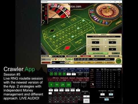 Crawler App | Session #5 | Live RNG Online Roulette | Casino Club