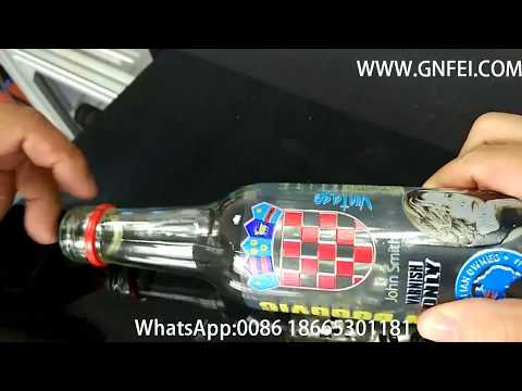 Bottle Printing by A3 UV Flatbed Printer