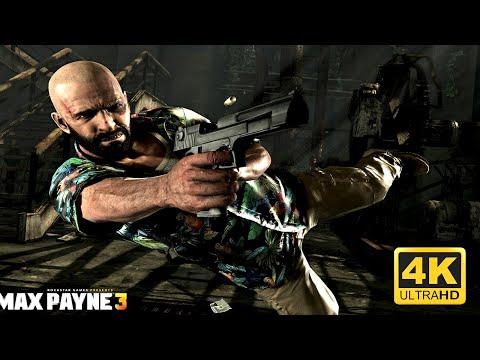 🎬 Max Payne 3 🎬 Game Movie HD Story Cutscenes [ 4k 2160p 60 FRPS ]