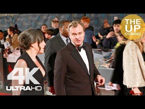 Christopher Nolan, Ridley Scott, Andy Serkis, Aaron Sorkin at BAFTAs red carpet