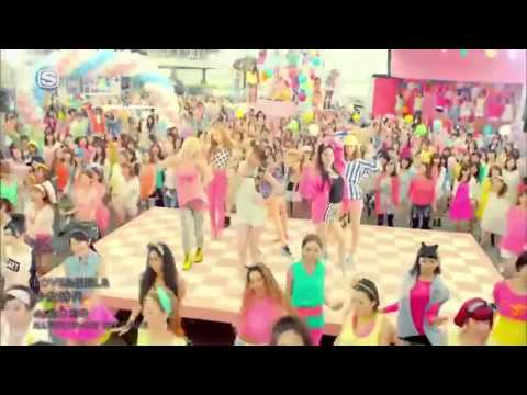 SNSD / Girls Generation - Love And Girls MV