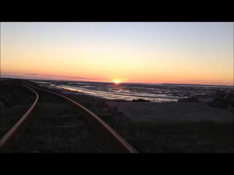 Sonnenuntergang Hallig Oland