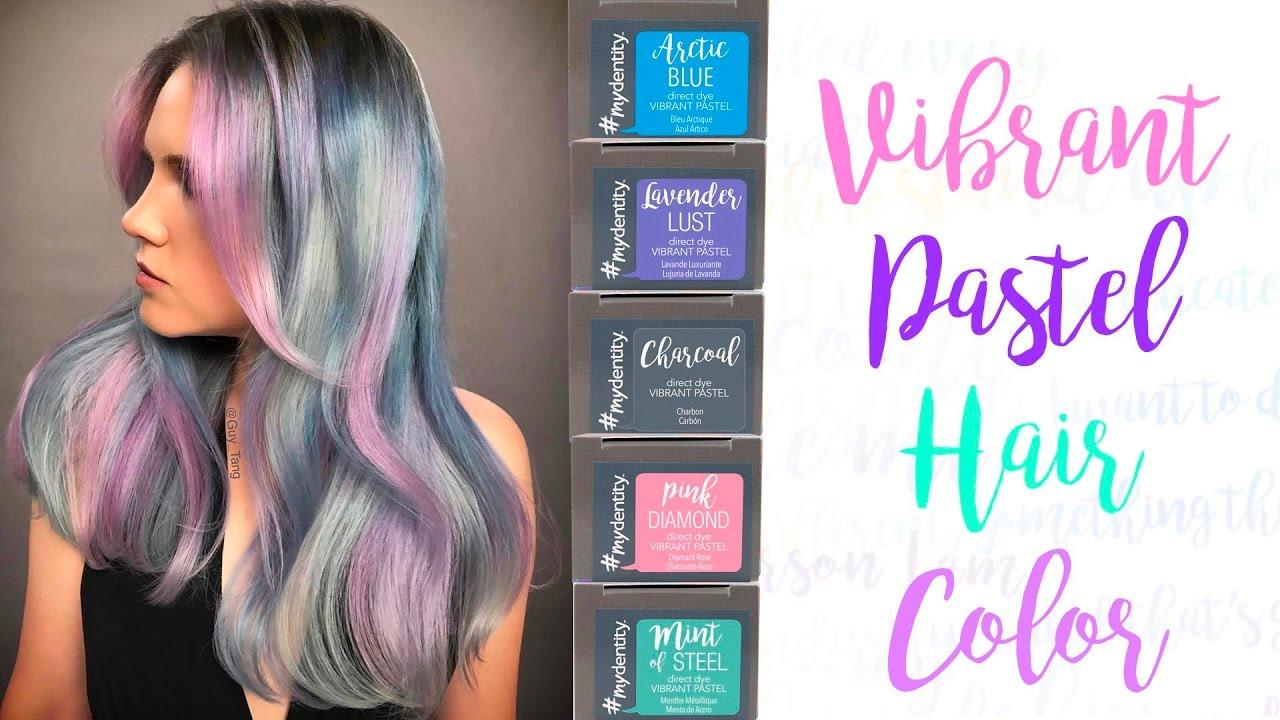 dd9a522daa Vibrant Pastel Hair Color - YouTube