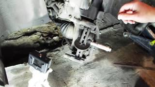 Проверка толщины тормозных дисков и колодок Круз, Авео Т300, Астра J