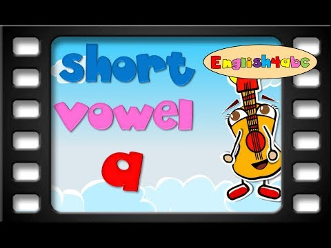 Short Vowel Letter aEnglish4abcPhonics song