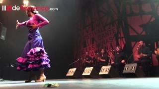 Alba Heredia en la Final del Cante de las Minas 2015