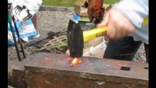 Blacksmithing 3 - Drawing Out  Metal