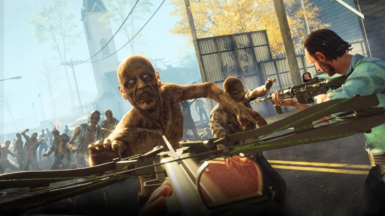 THE WALKING DEAD IN VIRTUAL REALITY!   Walking Dead: Onslaught VR ...