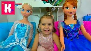видео Распаковка подарков на День Рождения 5 лет Распаковка игрушек для девочек Холодное сердце