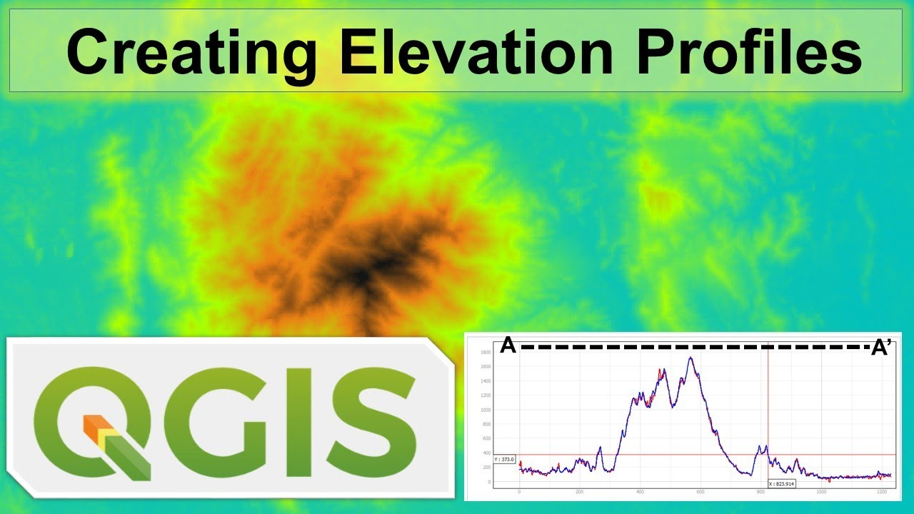 How to Create Cross Sectional Profiles using QGIS (ASTER vs SRTM)