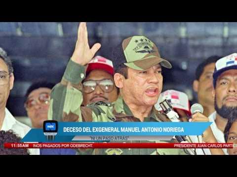 Deceso de ex general Manuel Antonio Noriega