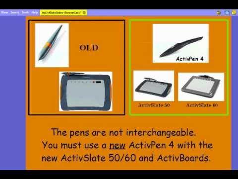 NEW DRIVERS: ACTIVSLATE