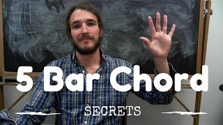 5 Ways to Take the Pain Out of Barre Chords