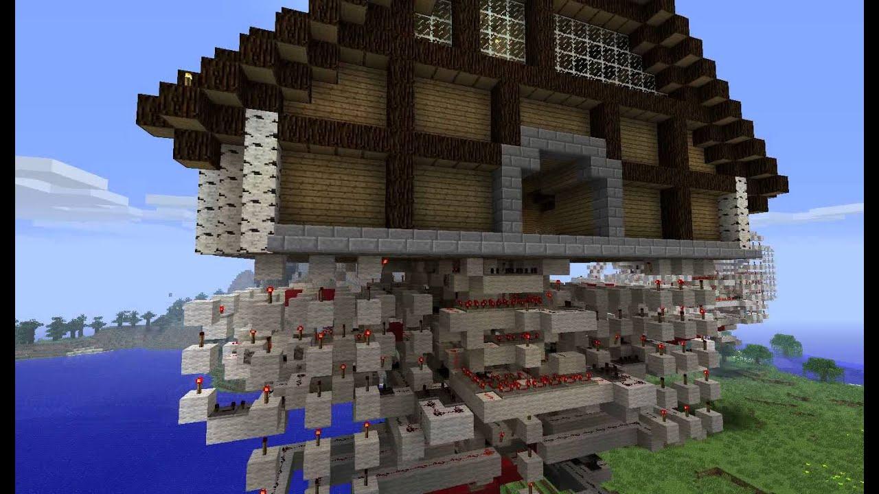 Minecraft - V3 0 5x5 Piston Door - With Schematics